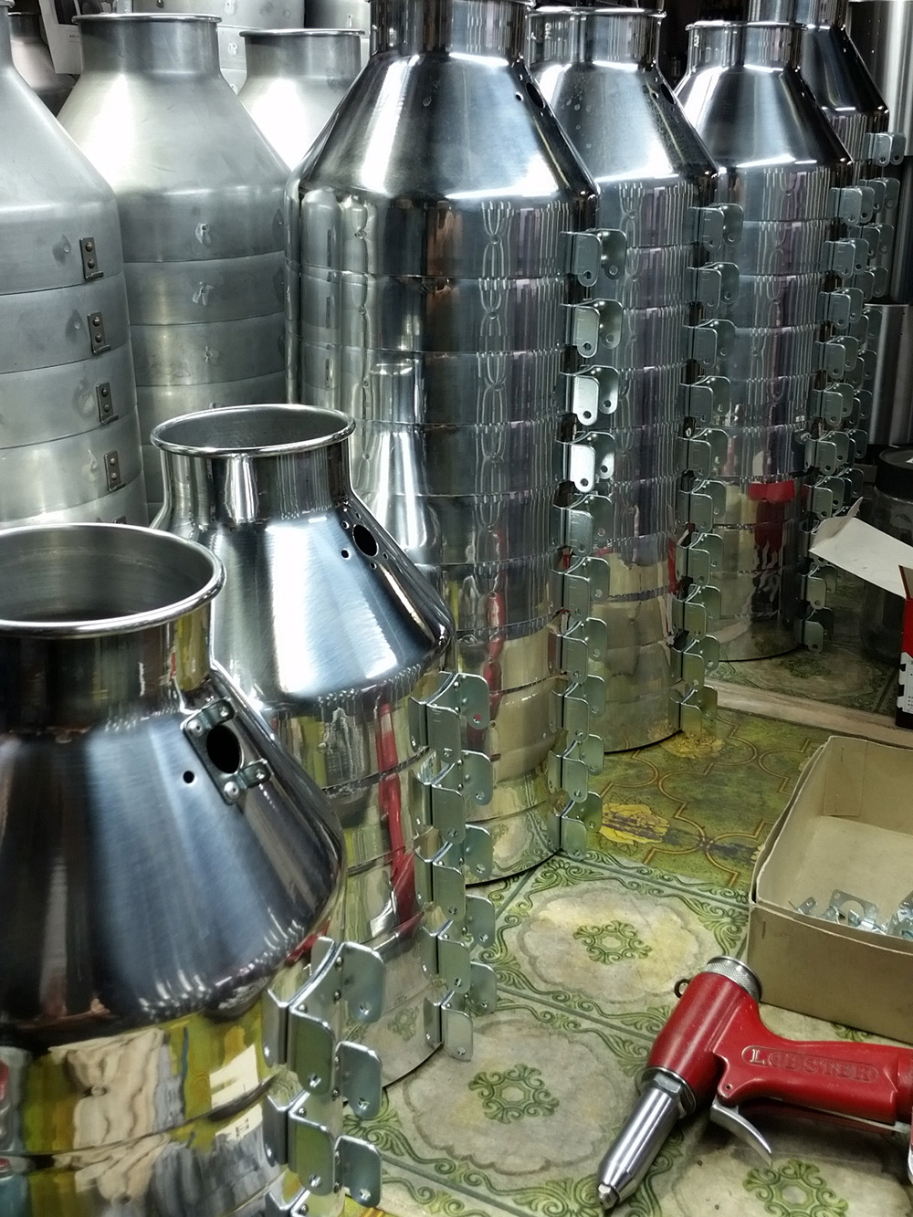 照明器具の製作
